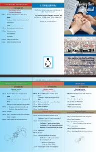 Designed Brochure for East Coast Ijtema 2014 held in September 2014